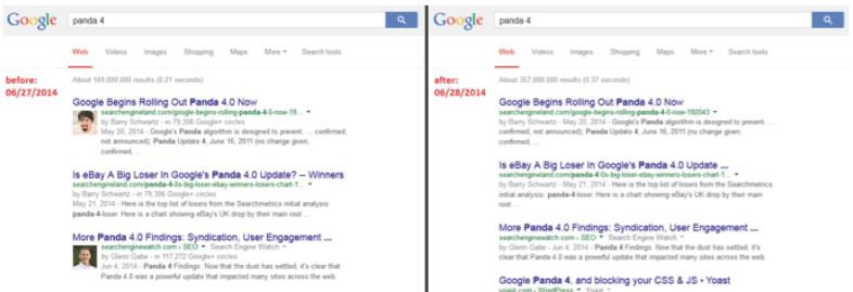 autorship google prima e dopo