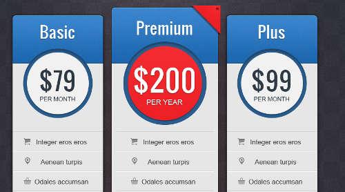 tabella listino prezzi 2