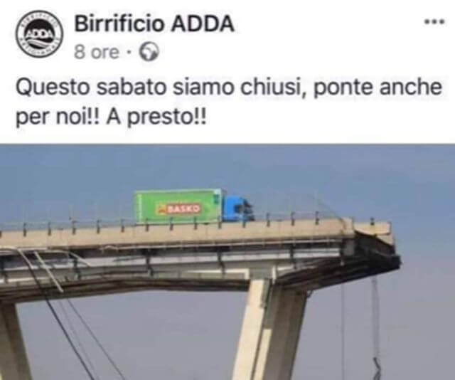 post facebook birrificio adda