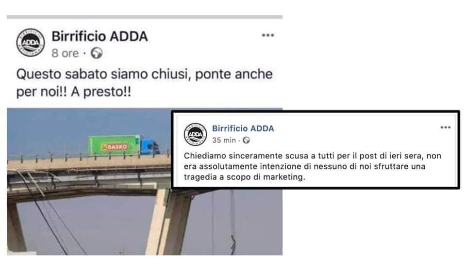 birrificio adda scuse