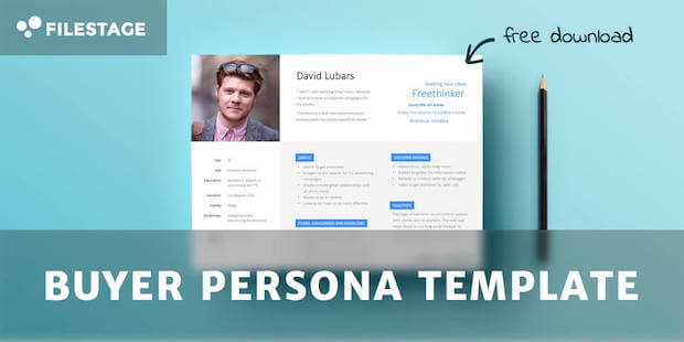 template buyer personas filestage